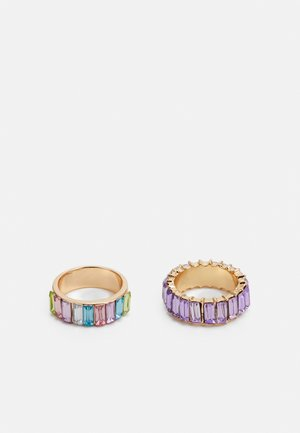 2 PACK - Ringe - gold-coloured
