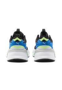 Puma - RS-X³ PUZZLE SOFT - Trainers - white-electric blue lemonade - 2
