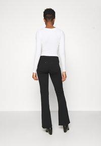 Monki - AINO  - Long sleeved top - white - 2