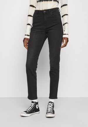 RETRO - Slim fit jeans - black track