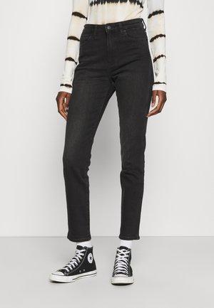 RETRO - Jeans slim fit - black track