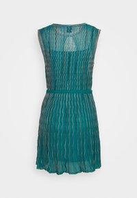 M Missoni - ABITO SENZA MANICHE - Strikket kjole - purple - 1