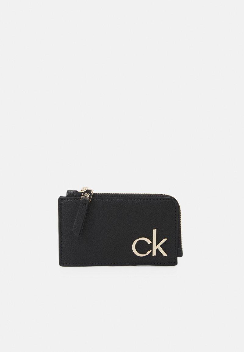 Calvin Klein - CARDHOLDER ZIP - Wallet - black
