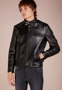 Schott Made in USA - CLASSIC CAFE RACER - Leather jacket - black - 3
