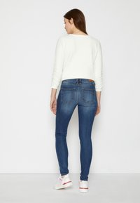 TOM TAILOR DENIM - JONA - Jeans Skinny Fit - clean mid stone blue denim - 3