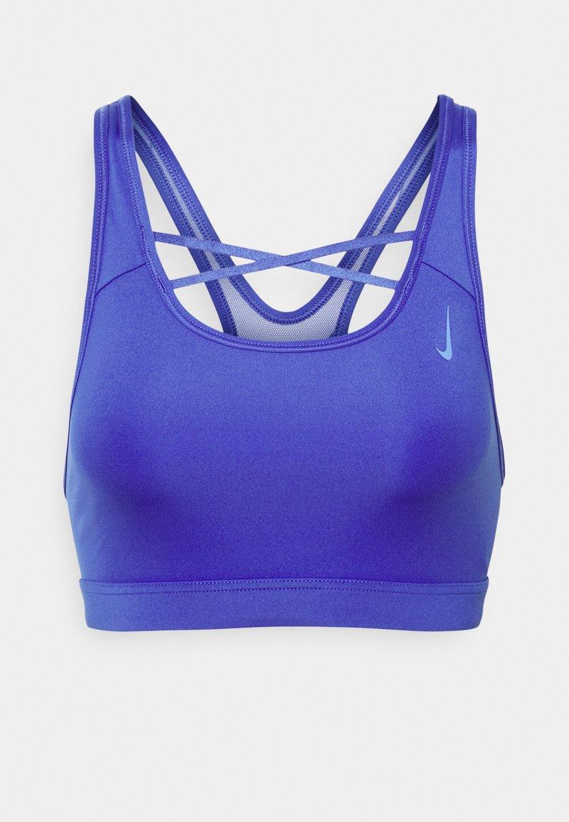Nike Performance - STRAPPY BRA - Reggiseno sportivo con sostegno medio - lapis/sapphire
