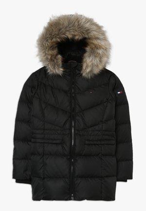 ESSENTIAL COAT - Down coat - black
