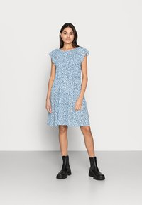 Saint Tropez - GISLA DRESS - Vapaa-ajan mekko - cashmere blue - 0
