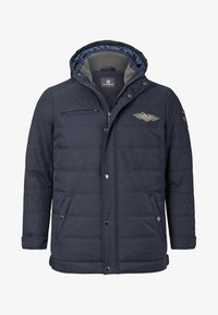 Jan Vanderstorm - JUHAPEKKA - Winter jacket - blue - 4