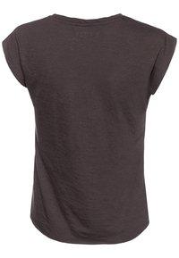 Blue Seven - Print T-shirt - anthrazite - 1