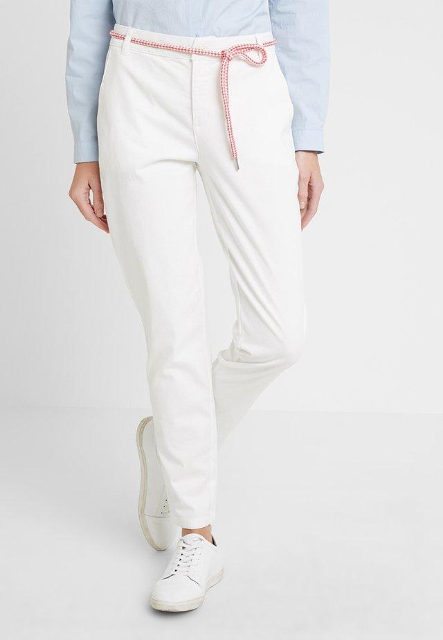 BILLIE JEAN - Pantalon classique - white