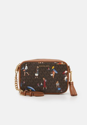 JET CAMERA BAG - Skulderveske - brown/multi