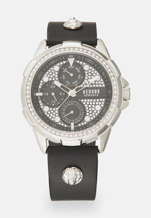 6EME ARRONDISSMENT - Reloj - black/silver-coloured