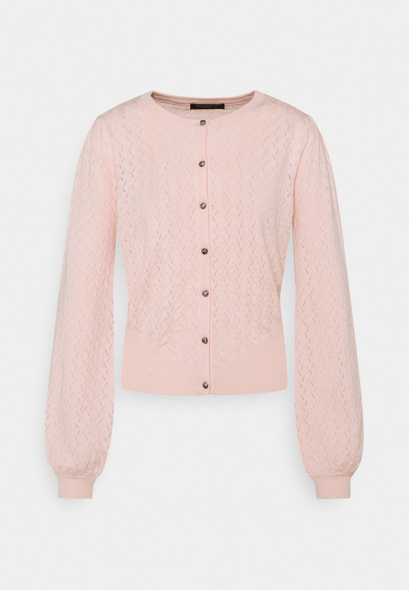 Bruuns Bazaar - ANEMONE MINNA CARDIGAN - Cardigan - misty rose
