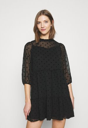 ONLJESS DRESS - Shirt dress - black