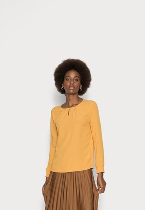 Long sleeved top - autumn gold