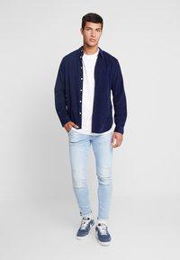 G-Star - 3D SLIM FIT - Jeans slim fit - azure stretch denim light aged - 1