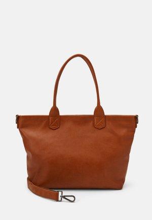 SHORTY ZOOM - Shoppingveske - caramel
