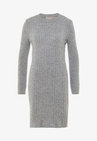 Anna Field - Strikket kjole - dark grey marl - 4