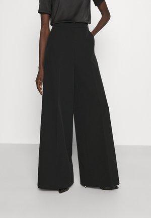 PANTALONI/TROUSERS - Spodnie materiałowe - nero