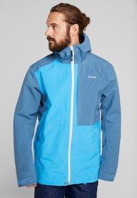 PYUA - EXCITE - Snowboard jacket - stellar blue/malibu blue - 0