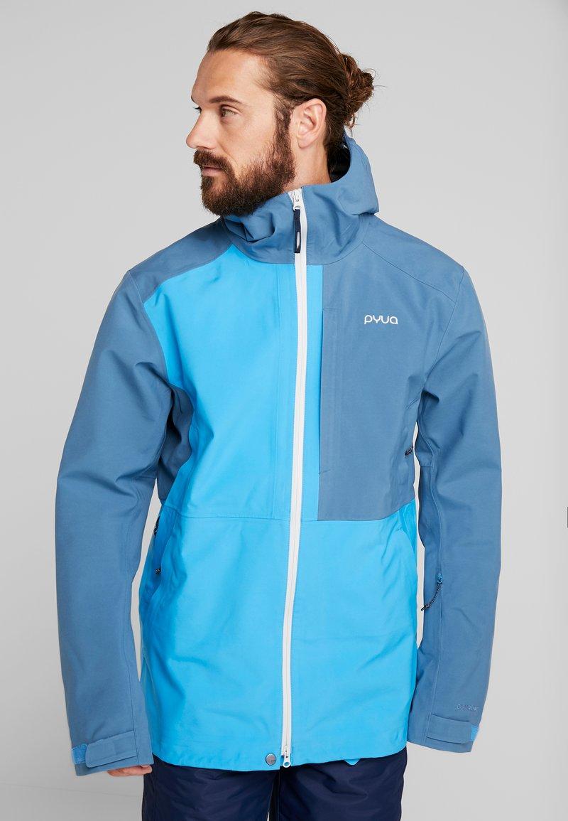 PYUA - EXCITE - Snowboard jacket - stellar blue/malibu blue