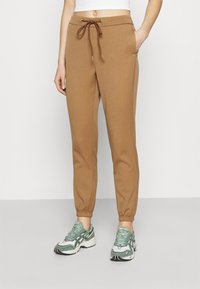 ONLY - ONLREGIE STRING SMOCK PANT - Joggebukse - toasted coconut - 0