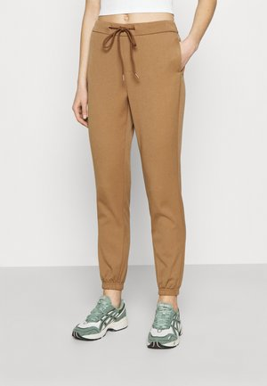 ONLREGIE STRING SMOCK PANT - Tracksuit bottoms - toasted coconut