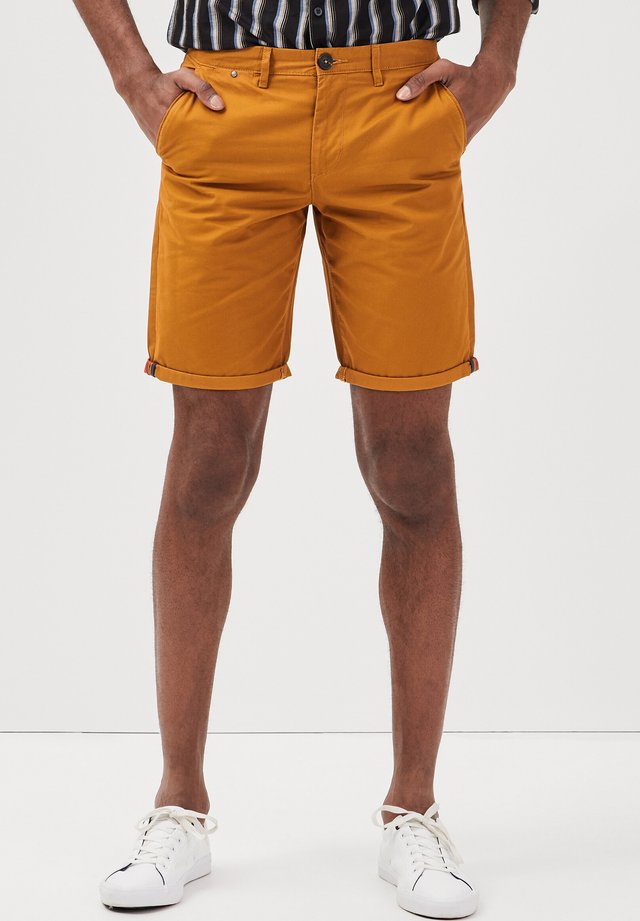 Shorts - jaune moutarde