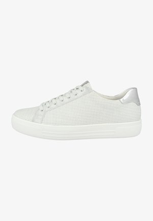 Trainers - white-silver-ice-argento (d0904-81)