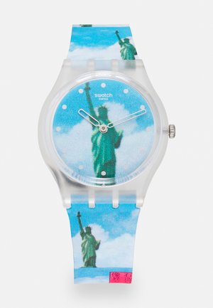 NEW YORK BY TADANORI YOKOO THE WATCH UNISEX - Rannekello - blue