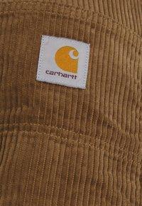 Carhartt WIP - SINGLE KNEE PANT URBANA - Kangashousut - hamilton brown rinsed - 5