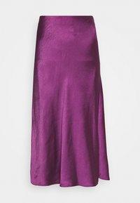 Expresso - HIRA - A-line skirt - dark violet - 3