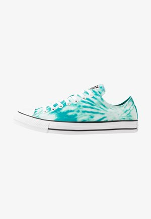 CHUCK TAYLOR ALL STAR OX - Sneakersy niskie - malachite/game royal/white