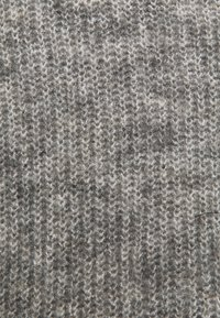 Object Petite - OBJHOLLY - Strikkegenser - medium grey melange - 2