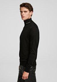 KARL LAGERFELD - Sweter - black - 3