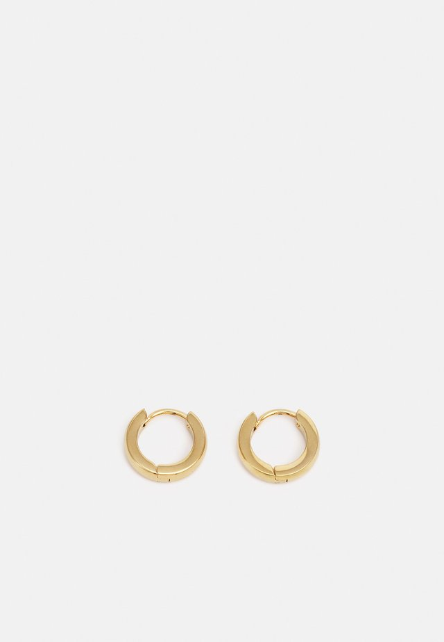 MINI HOOP EARRINGS UNISEX - Orecchini - gold-coloured