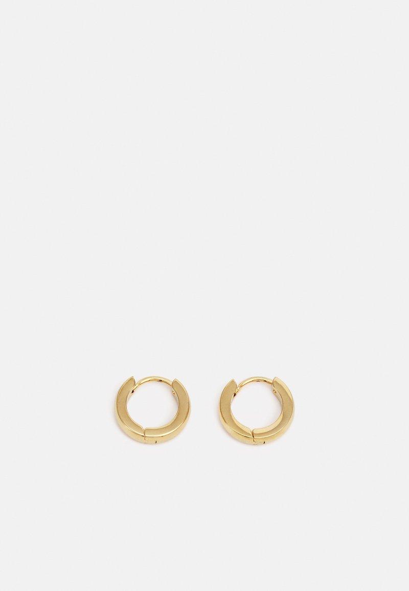 Nialaya - MINI HOOP EARRINGS UNISEX - Earrings - gold-coloured