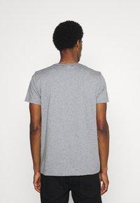 GANT - ARCH OUTLINE - Print T-shirt - grey melange - 2