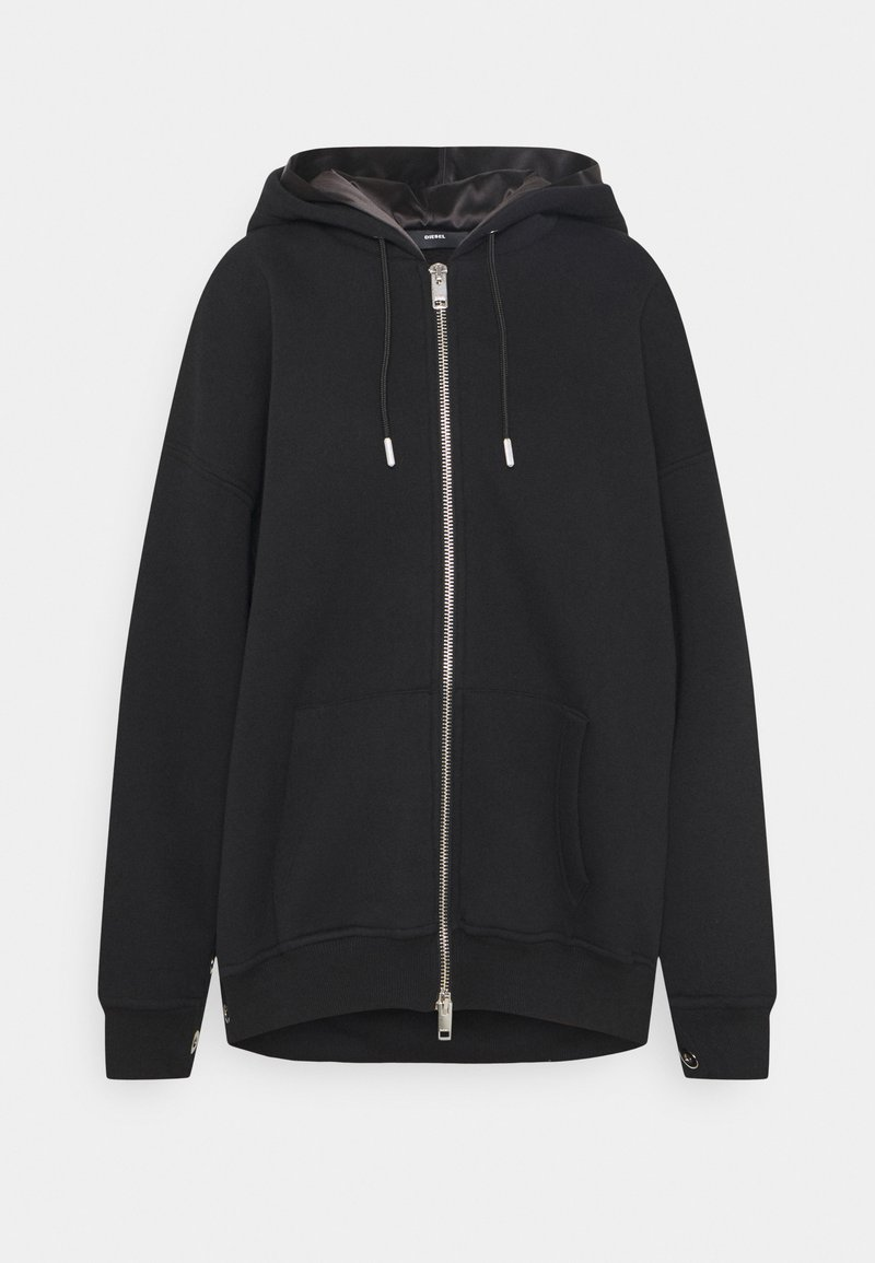 Diesel - GLORIOUS - Zip-up hoodie - black