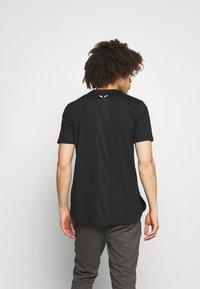 SQUATWOLF - WARRIOR TEE - T-shirt imprimé - black - 2