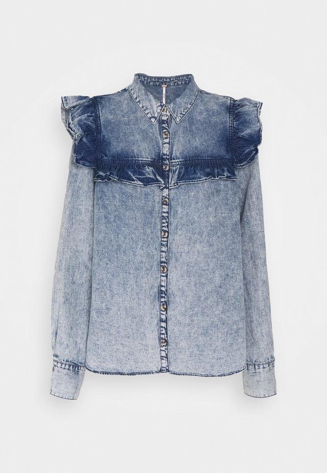 SAMANTHA RUFFLE - Chemisier - indigo blue