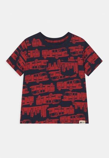 TODDLER BOY - Print T-shirt - dark blue