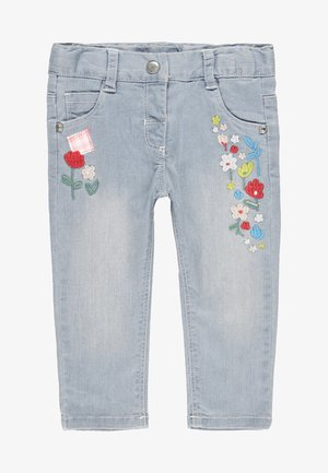 Straight leg jeans - bleach