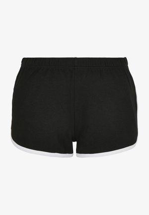 RETRO  - Shorts - black/white