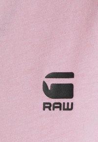 G-Star - EYBEN SLIM V T WMN S\S - Camiseta básica - lavender pink - 5