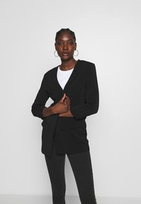 mbyM - WERONKA - Halflange jas - black - 3