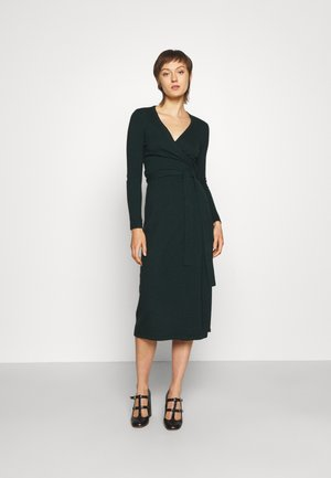 ASTRID DRESS - Jumper dress - deep emerald