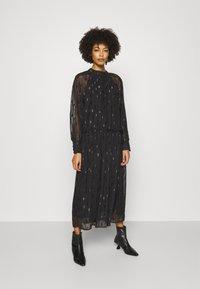 Love Copenhagen - LCAGAFIA DRESS - Cocktail dress / Party dress - pitch black - 0