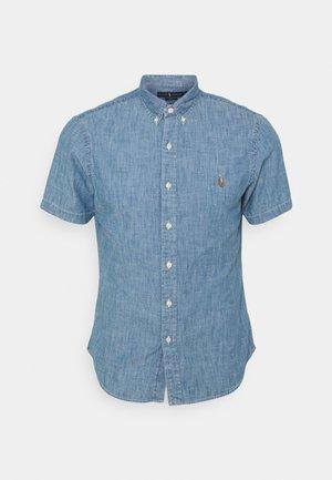SHORT SLEEVE SPORT SHIRT - Shirt - medium indigo